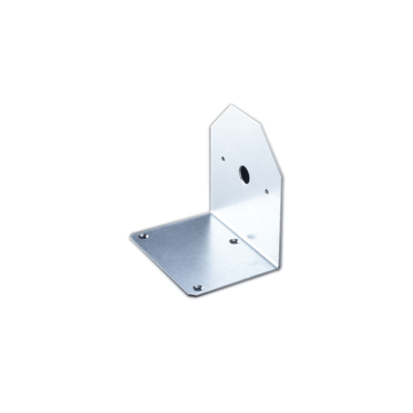 Montagewinkel 105 mm für Meldersockel USB 501