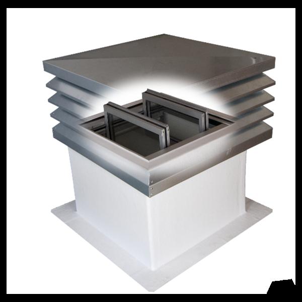 Entrauchungssystem SHEV Flap S 540 x 540 mm