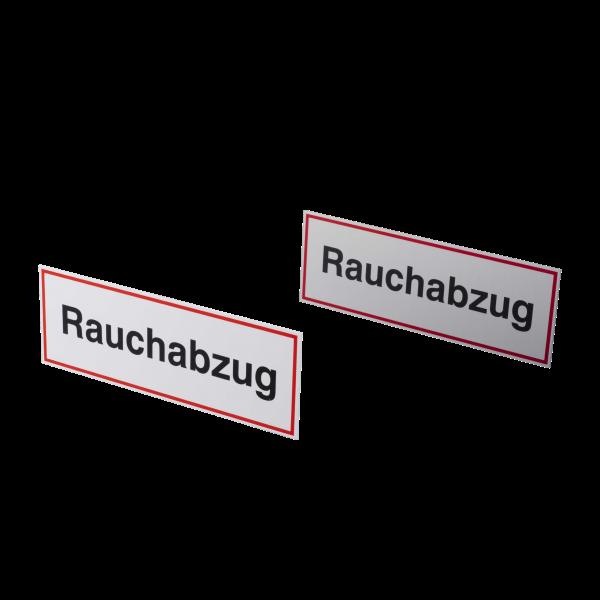 """Hinweisschild """"Rauchabzug"""" HR-9/K"""