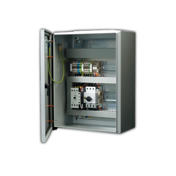 RDA Relais Box 400 V 3 Phasen Zuluftventilator 5,5 KW
