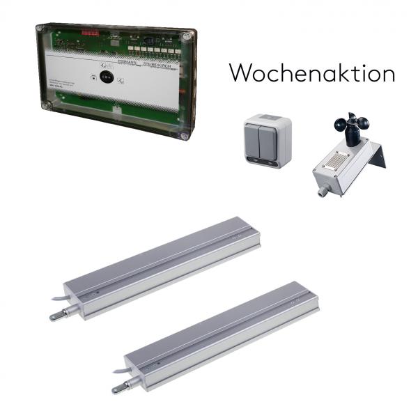 230 V AC Lüftungs-Set mit zwei Linearantrieb M3